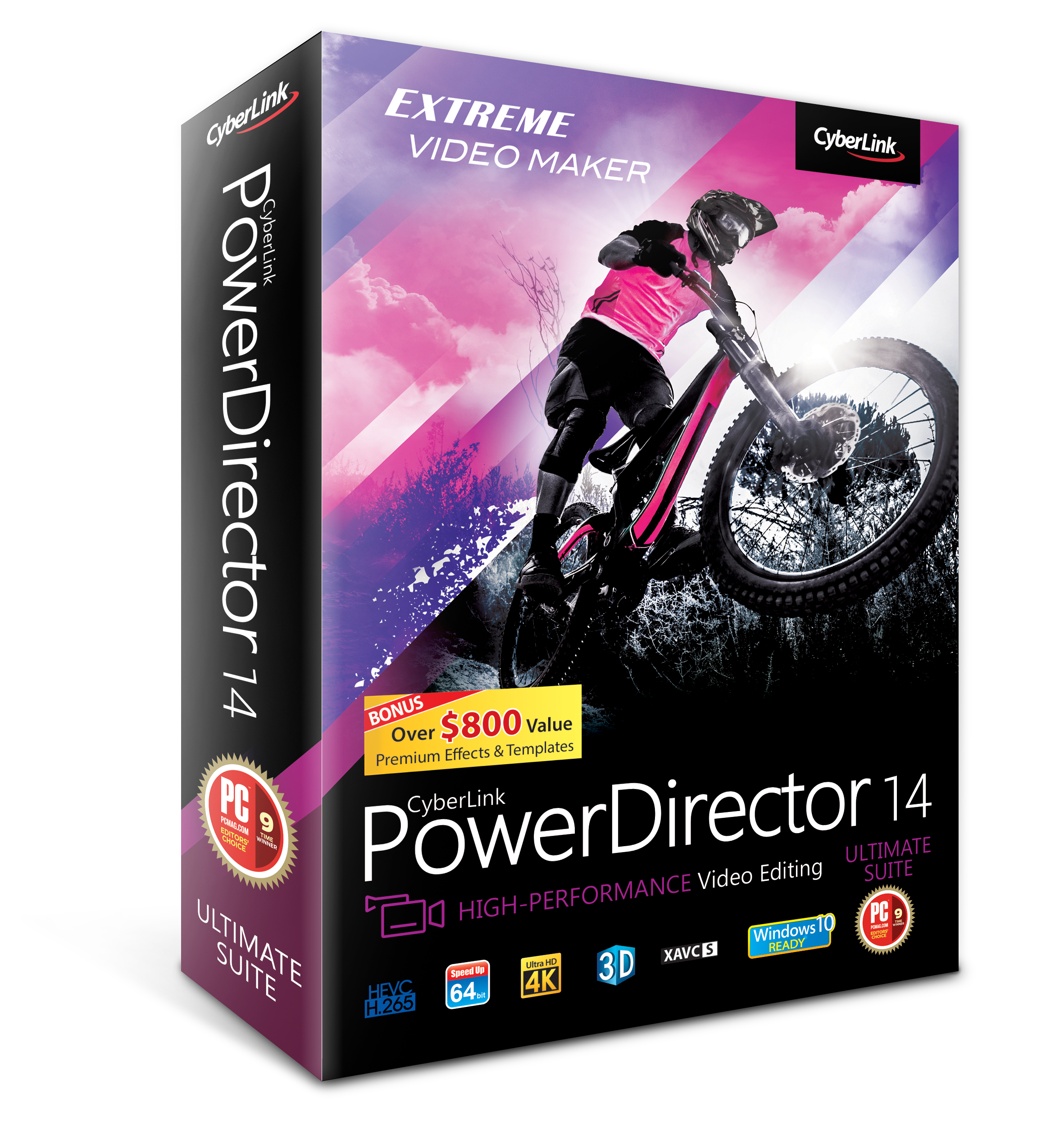 Upgrade to PowerDirector 14 Ultimate Suite from v.12/13 Ultimate Suite