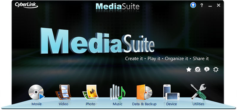 CyberLink Media Suite 9 - All you need to Play, Create, Enjoy and Share