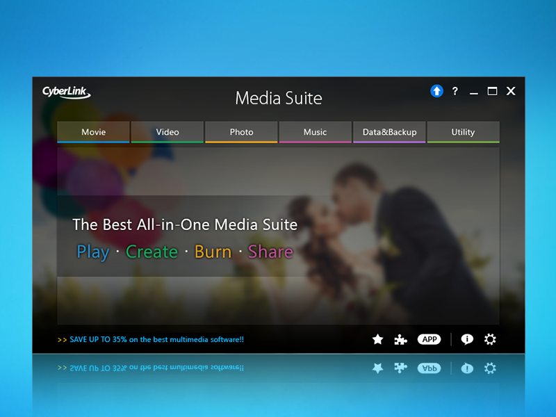 how to play dvd with cyberlink media suite 10