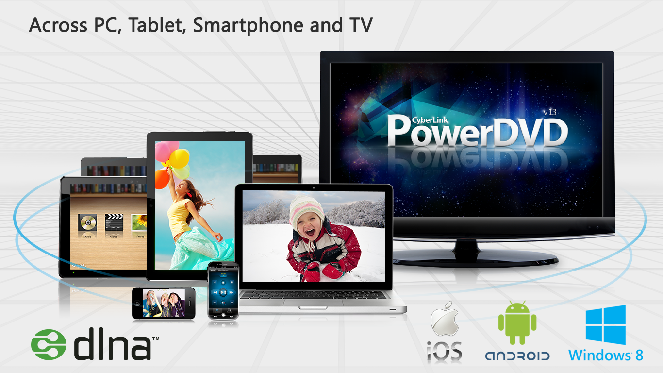 PowerDVD 13, the world's most popular cross-platform multimedia playback solution