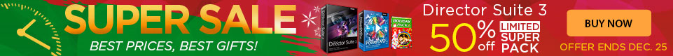 More Powerful version - Director Suite 3