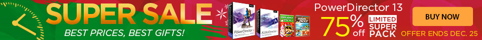 75% OFF PowerDirector 13 Ultimate