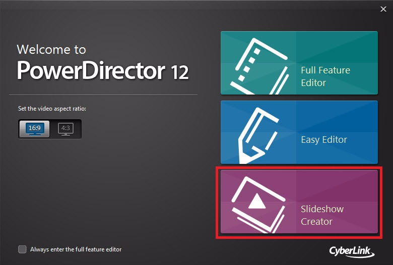 Powerdirector tutorial basic creating a slideshow for Powerdirector slideshow templates download