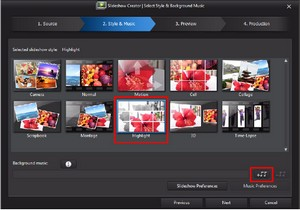 cyberlink powerdirector slideshow templates - powerdirector tutorial basic creating a slideshow