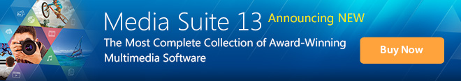 Media Suite 13 Ultimate: The Most Complete Collection of Award-Winning Multimedia Software