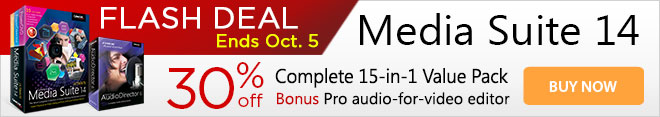 Media Suite 14: The Most Complete Collection of Award-Winning Multimedia Software