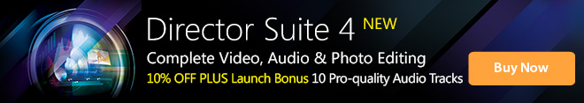 Director Suite 4: Complete Video, Audio & Photo Editing
