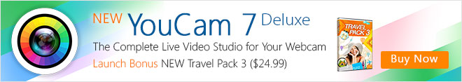 NEW YouCam 7: The Complete Live Video Studio for Your Webcam