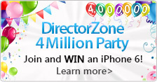 Celebrating 4 Million Members on DirectorZone!