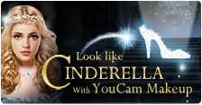 "Look like Cinderella with YouCam Makeup & Win A ""Princess for a Day"" Makeover"