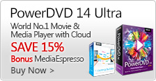 PowerDVD 14 - World's No. 1 Movie & Media Player with Cloud