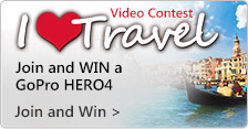 Share Your EpicTravels and Win a GoPro HERO4!