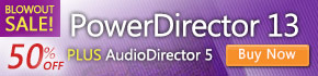 NEW PowerDirector 13