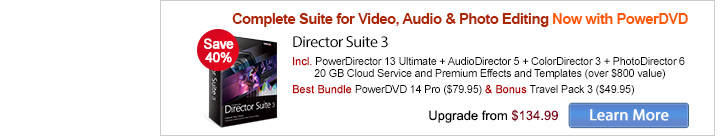Director Suite 3: Complete Creative Suite for Video & Photo Editing