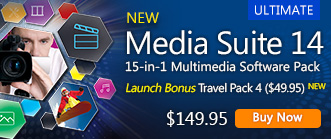 Media Suite 14: The Most Complete Multimedia Software Package