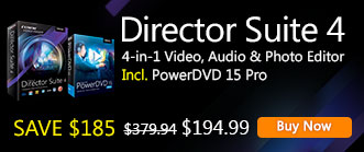 Director Suite 4: Complete Suite for Video, Audio & Photo Editing