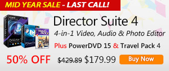 Director Suite 4: Complete Video/Audio/Photo Editing