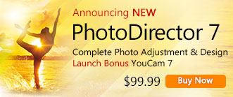 PhotoDirector 7 Ultra: Complete Photo Adjustment & Design
