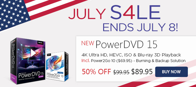 PowerDVD 15 Ultra: World's No.1 Movie & Media Player