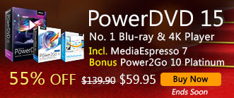 PowerDVD 15 Ultra: World's No. 1 Movie & Media Player