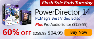 PowerDirector 14 Ultimate: Powerful & Creative Video Editing Software