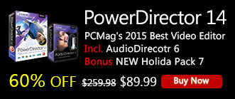 PowerDirector 14 Ultimate: Powerful & Creative Video Editing