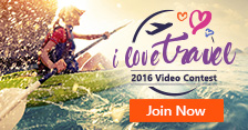 "The ""I Love Travel"" video contest is back for 2016!"
