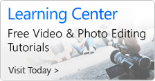 New Learning Center - Free Video & Photo Editing Tutorials