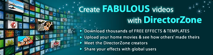 Free video effects photo frames tutorials directorzone for Powerdirector dvd menu templates