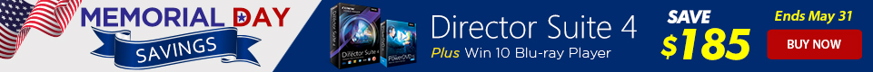 Director Suite 4 - Complete Video & Photo Editing | CyberLink
