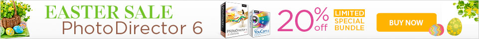 20% OFF PhotoDirector 6 Suite