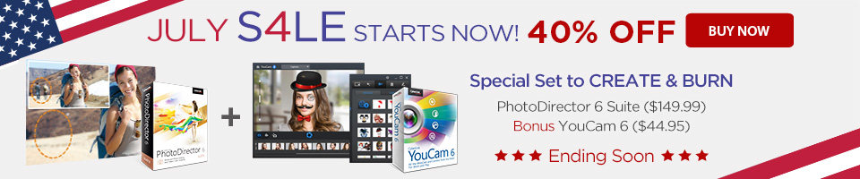 40% OFF PhotoDirector 6 Suite