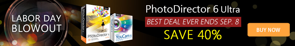 40% OFF PhotoDirector 6 Ultra