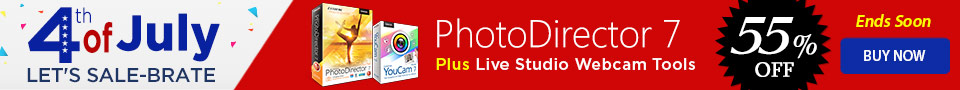 PhotoDirector 7 Ultra - Complete Photo Adjustment & Design | CyberLink