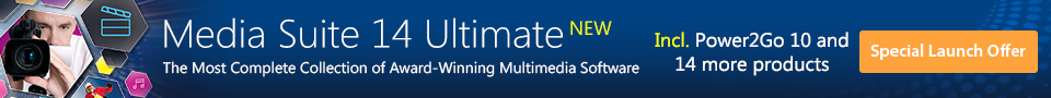Learn More About NEW Media Suite 14 - The Most Complete Collection of Multimedia Software