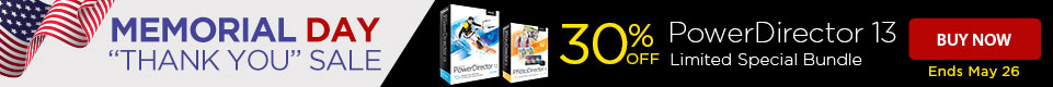 30% OFF PowerDirector 13 Ultra