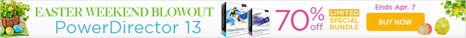 50% OFF PowerDirector 13 Ultra