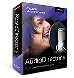 AudioDirector 6 - Complete Audio Editing Studio | CyberLink