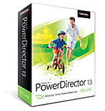 PowerDirector 13 Deluxe - Amazing Home Videos Made Easy