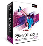 PowerDirector 13 Ultimate Suite - Complete Editing Tools for the Video Creative Experts