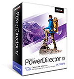 PowerDirector 13 Ultimate - Fast, Flexible Video Editing - PLUS Premium Effects