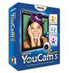 Webcam software with effects, presentation tools, face login and more