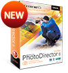 PhotoDirector 8 - Complete Photo Adjustment & Design