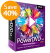 PowerDVD 14 Ultra - Blu-ray için Ultimate Media Player, 3D video ve HD Filmler