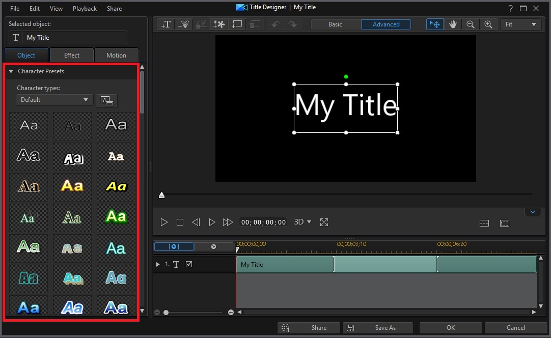 How to Add Text to Video with Title Designer | PowerDirector Video