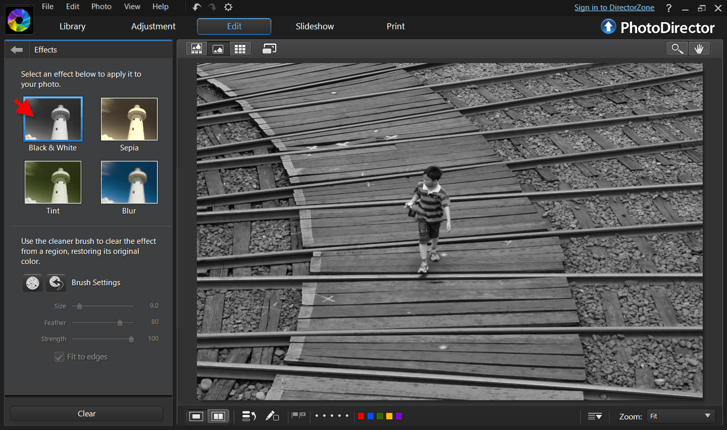 Free online photo editor selective coloring - Double Click To Zoom In This Makes It Easier To Deselect The Area And Restore To Its Original Colors Using The Brush Tool