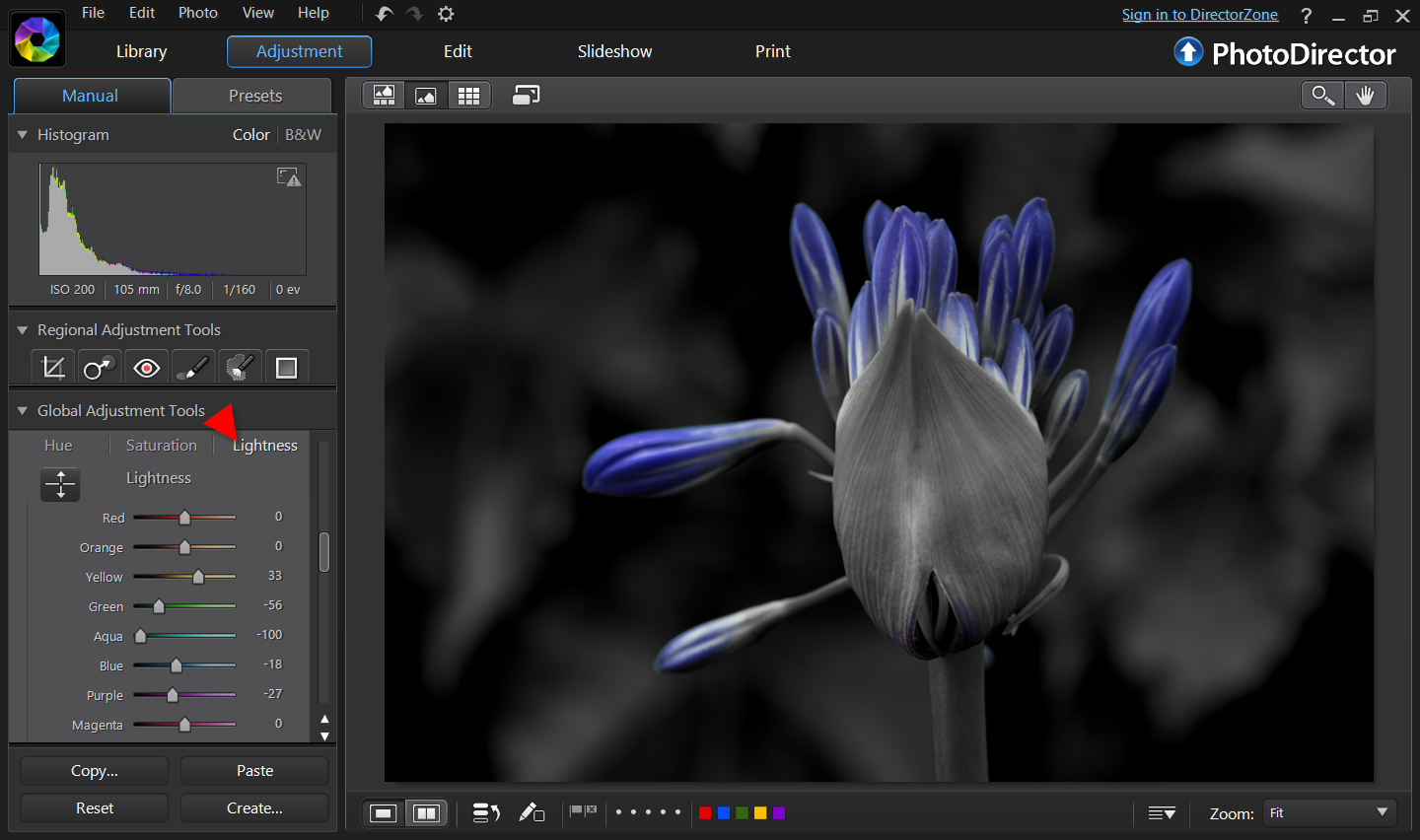 Free online photo editor selective coloring - The Masking Tool Comes Handy To Darken Only Selected Areas You Can Change Size Of The Brush Using The Mouse Scroll And Use