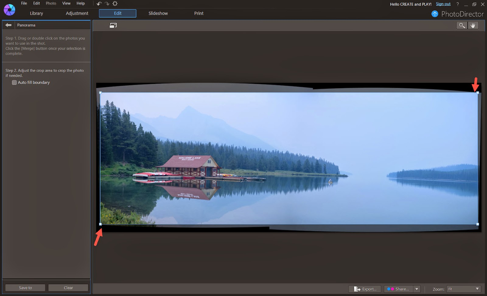 Incredibly Simple Way to Create Panoramic Photos | The CyberLink
