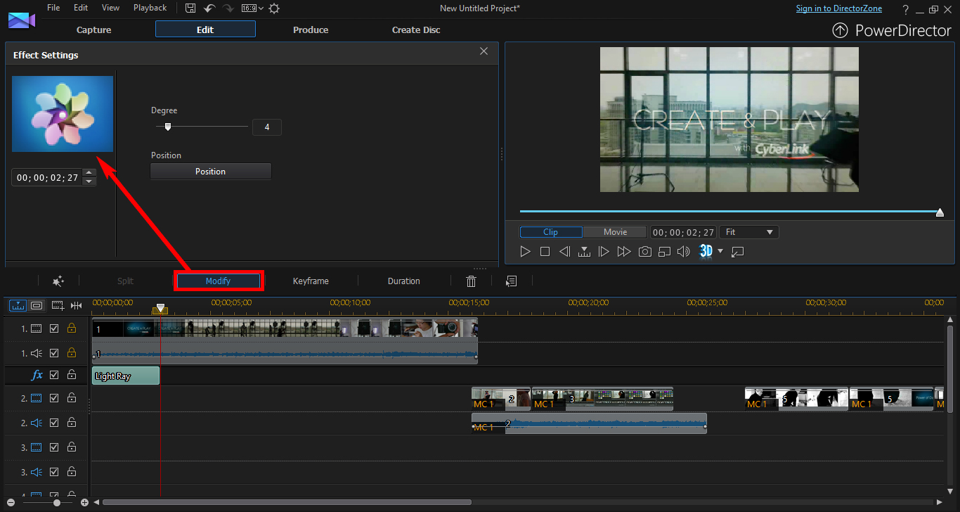 Using Keyframe to Control and Enhance Effects | The CyberLink