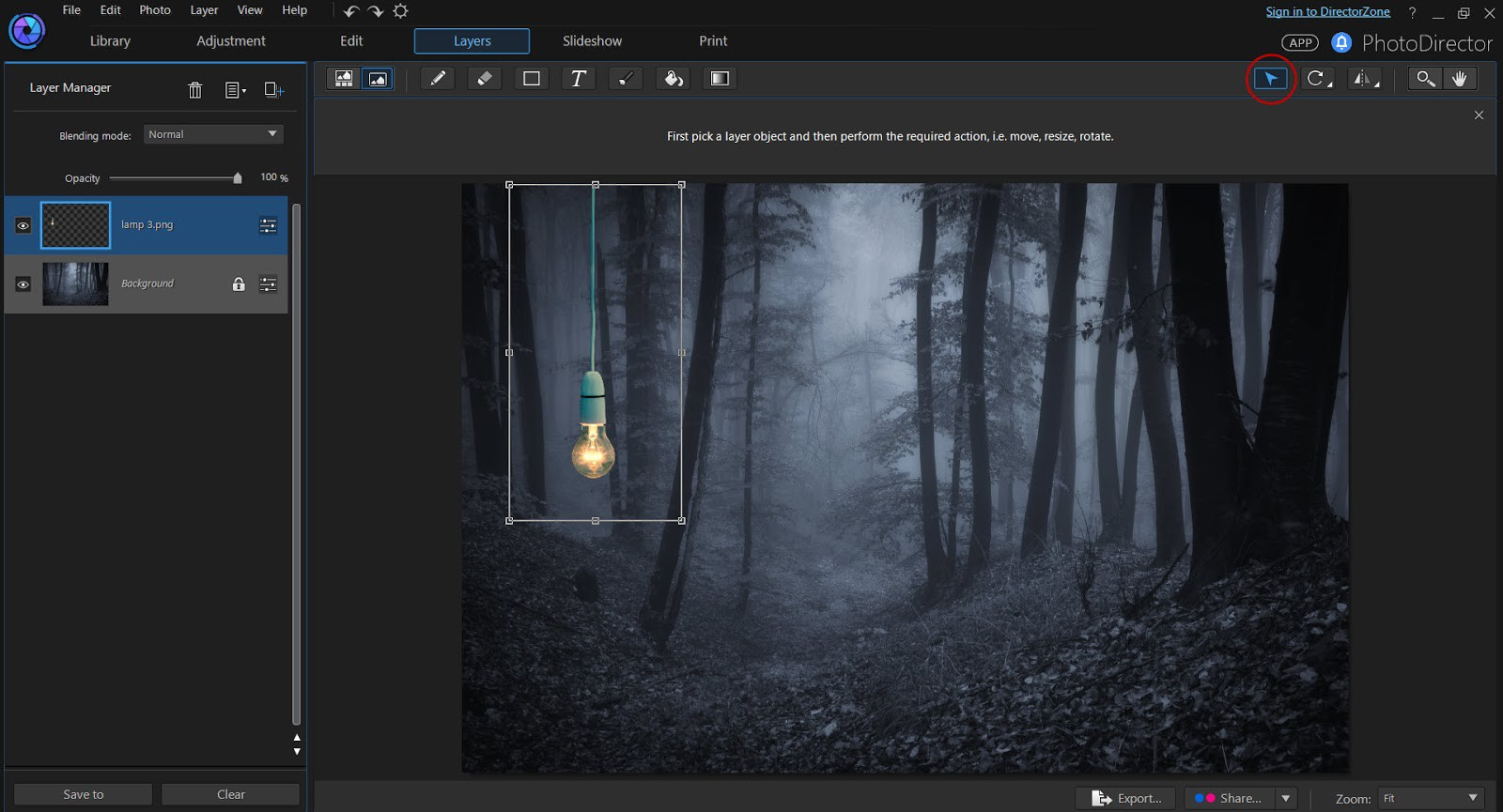 Background image opacity without affecting text -  Meaning That The Background Is Removed And Transparent So We Can Simply Reposition And Resize The Lamp On Top Of The Background Image Of The Forest